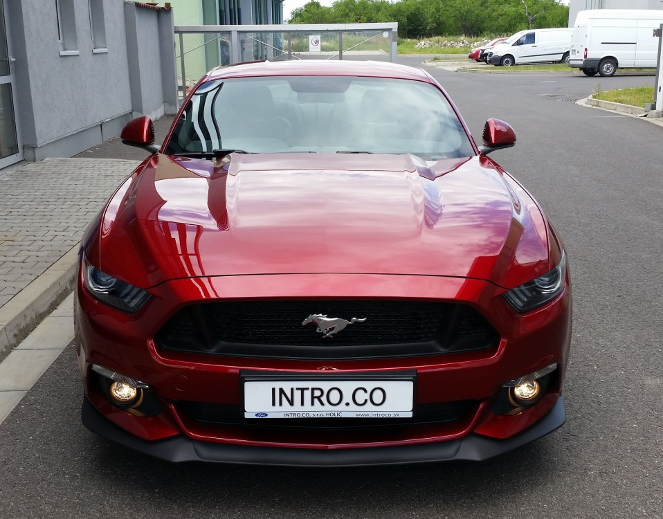 Mustang GT Ruby Red (1)